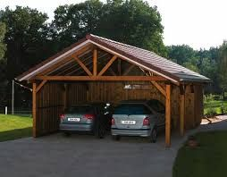 Image result for rustic carports backyard pinterest for Rustic carport