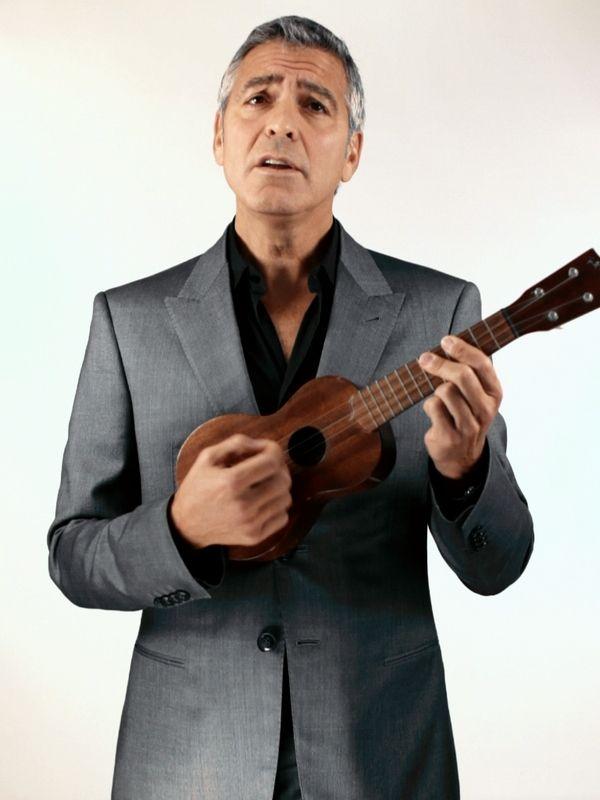 George Clooneys Ipad App Video I Think Im Gonna Uke Pinterest