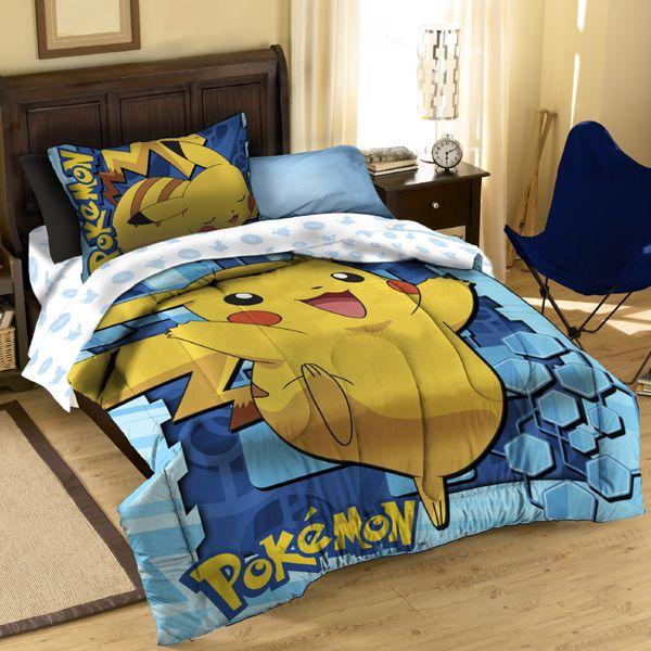 Children S Bedroom Pikachu Bedding X2 Bed Comforter Sets