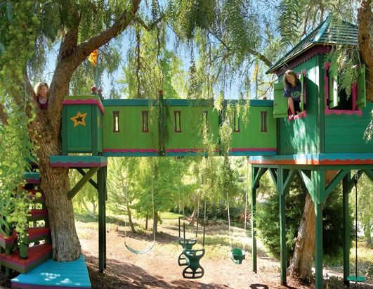 playhouse Summer Pinterest Casitas para niñas, Casas árbol y - casitas de jardin para nios
