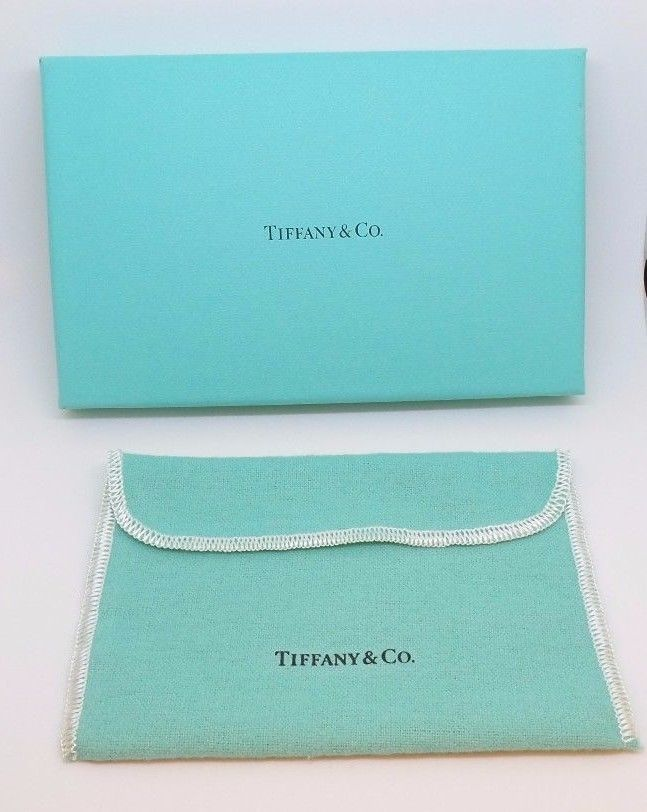 db04b24759 Authentic Tiffany Co Gift Box, 1 Fabric Pouches & Tissue Paper #TiffanyCo