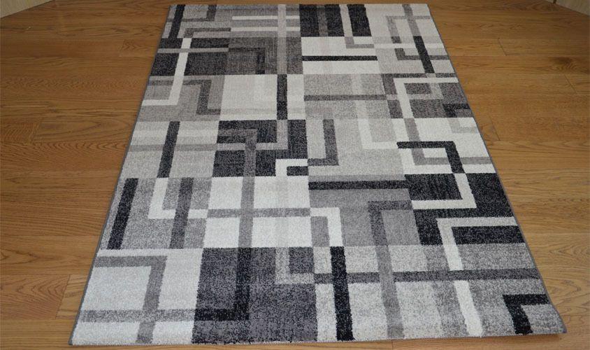 Tappeto moderno tappeto salotto geometrico CARRERA 32046