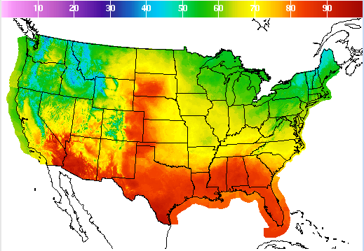 Professional Us Weather Map Services Offshore Marine Weather - Us-weather-service-map