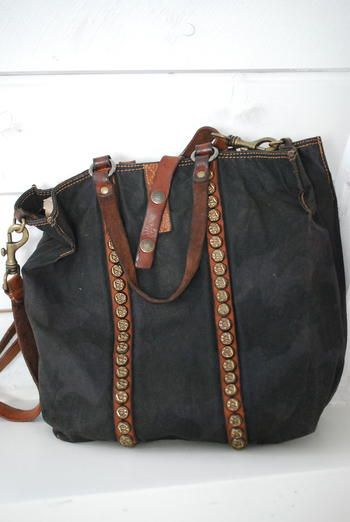 b659072796627 Große Shopper Handtasche mit Canvas