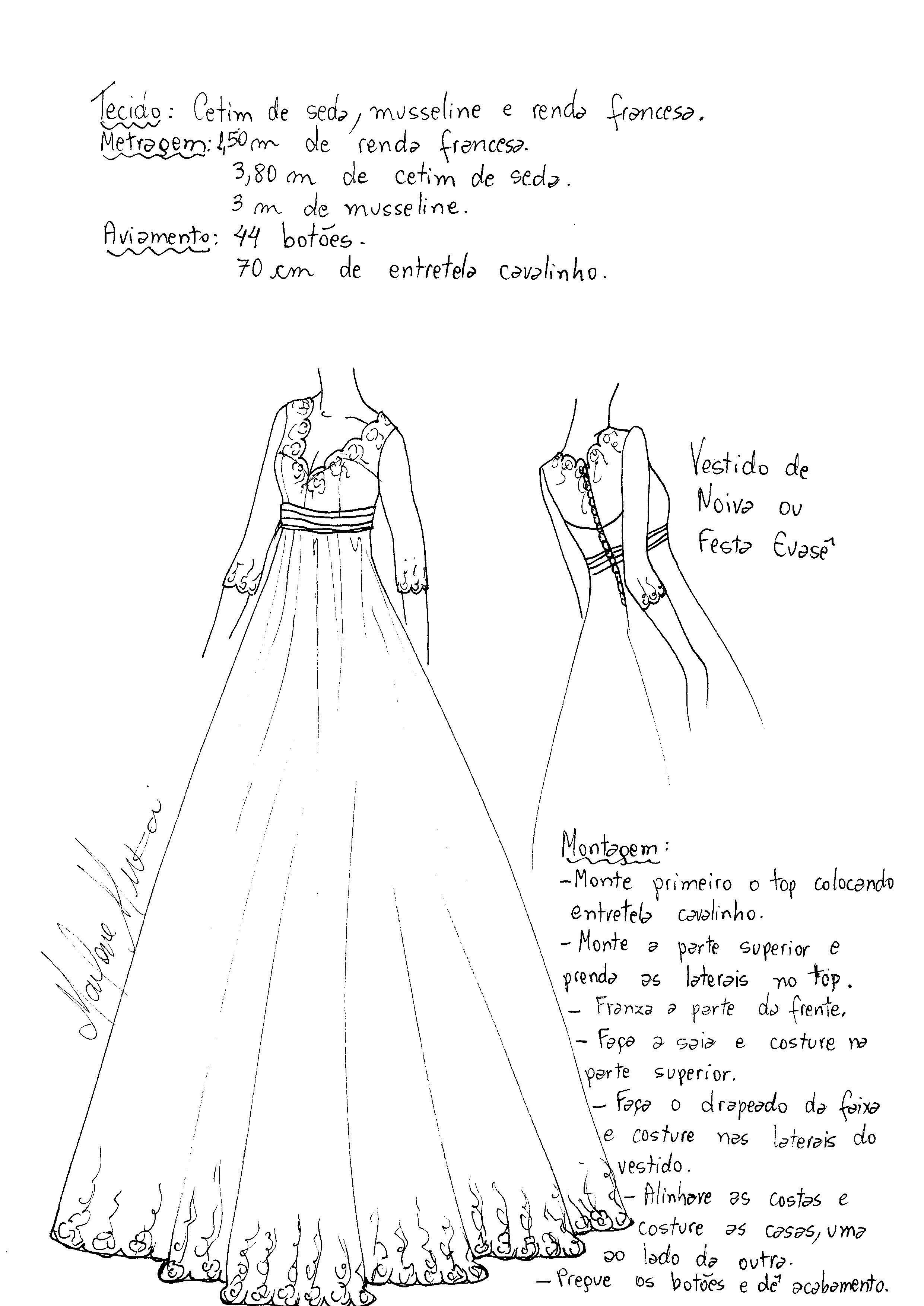 Patrón vestido de cóctel imperio   vestidos   Pinterest   Patrones ...