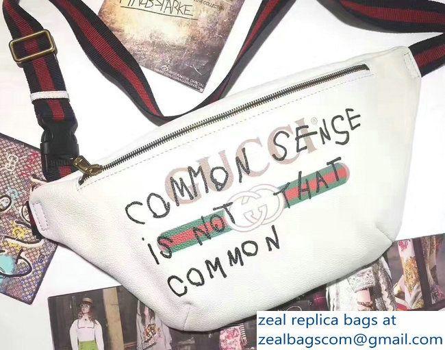 0e3cbc276b8 Gucci Coco Capitan Vintage Logo Belt Bag 493869 White 2017