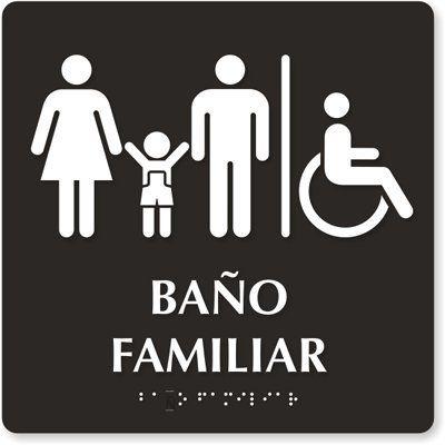 bc58378d2fcc baño familiar - Google Search | PICTOGRAMAS | Baños, Terrazas y Letreros
