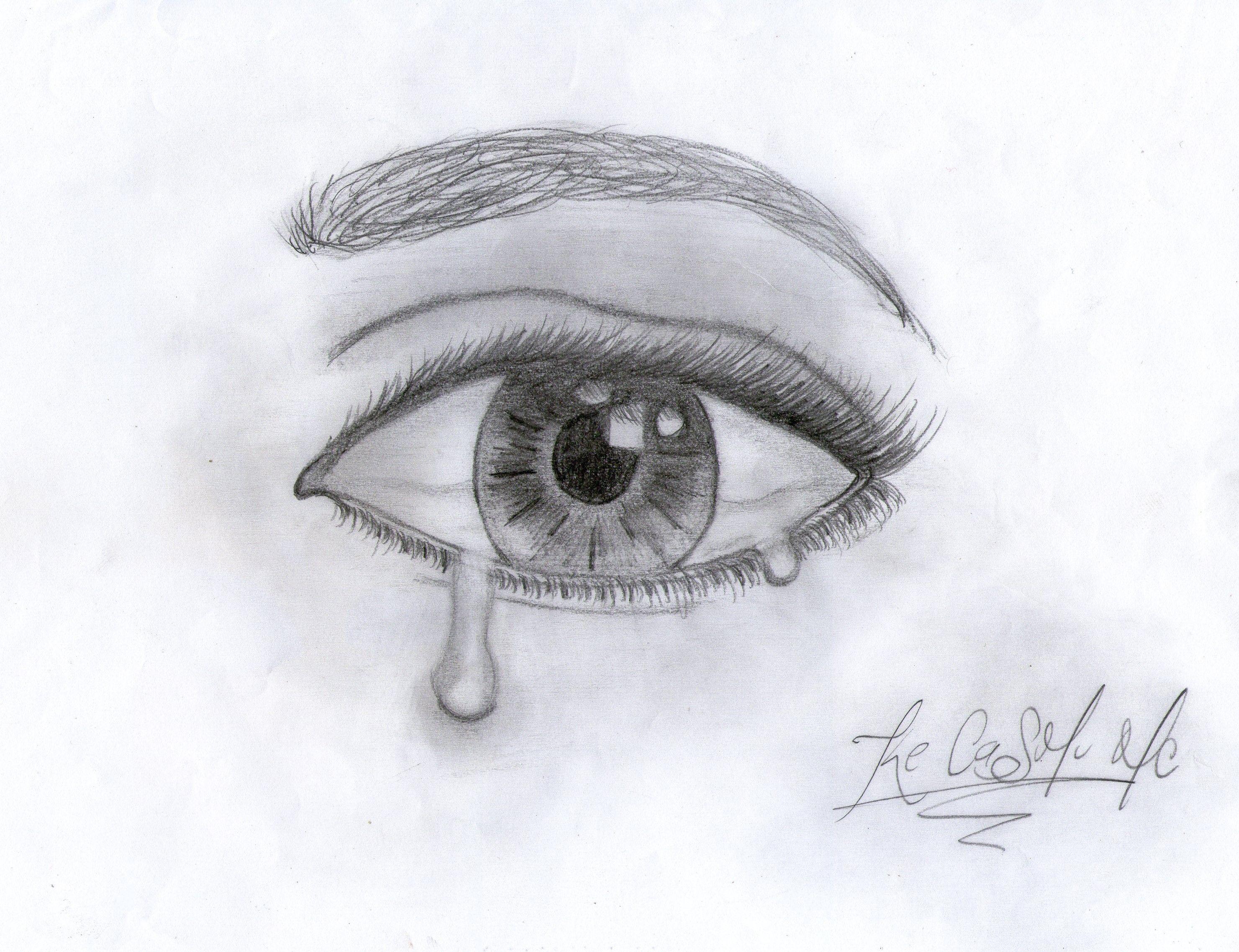 Dibujo De Ojo Dibujos De Ojos Ojos Llorando Ojos