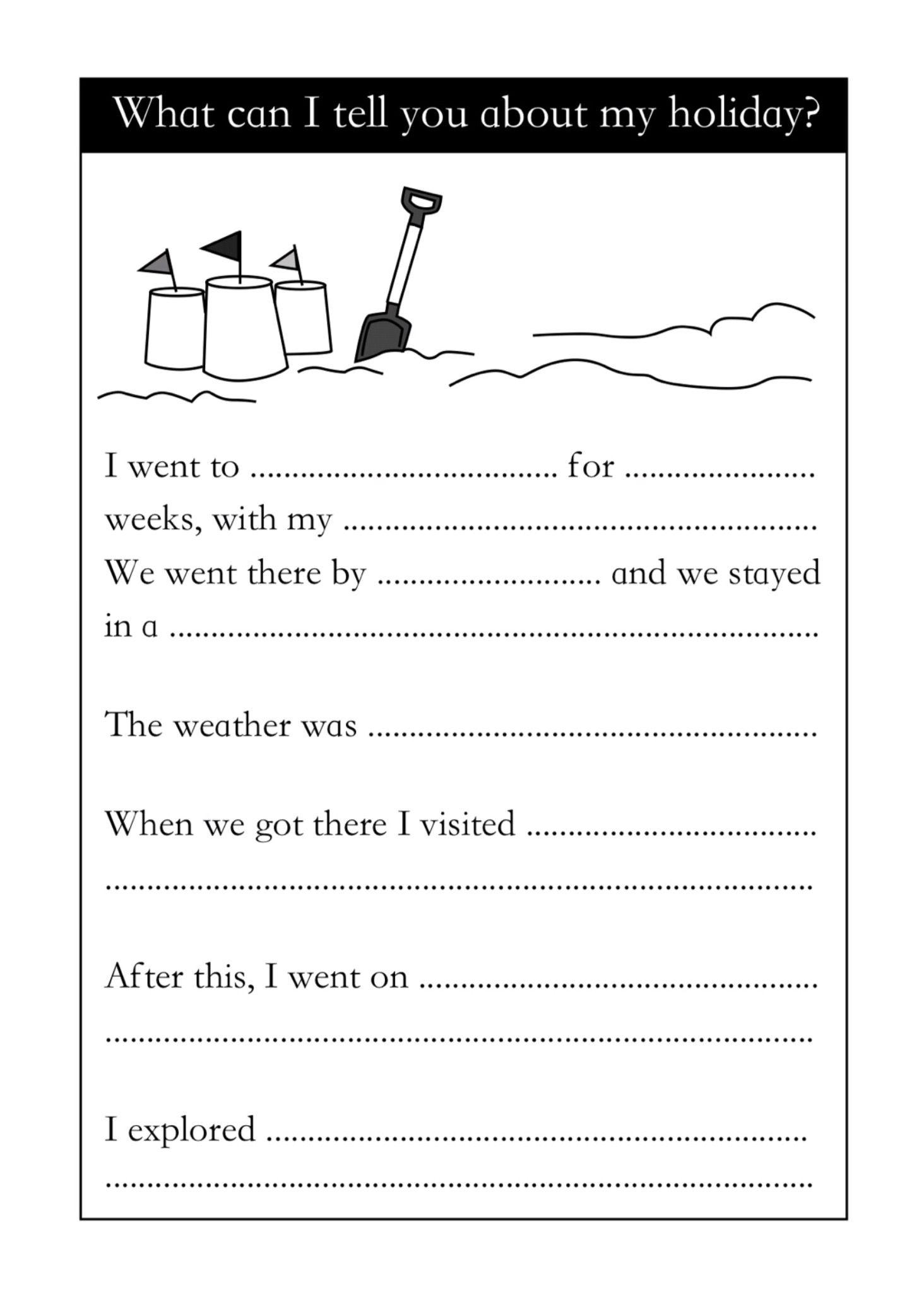 Sample Page From Time To Write A Diary Time To Read And