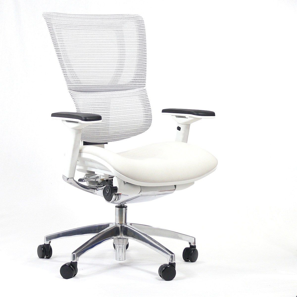White Office Chair With Adjustable Arms Office Chair Mesh Office Chair White Office Chair