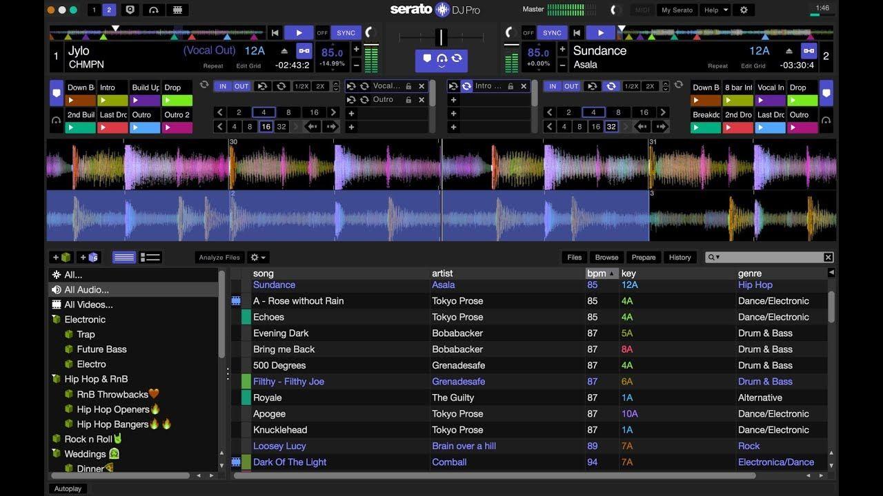 Serato DJ Pro 2 Crack + Serial Key for Win + Mac Free