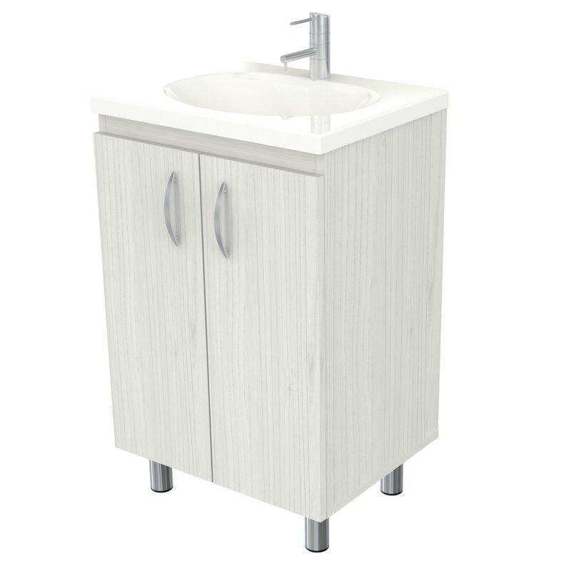 Koenig 18 Single Bathroom Vanity Set Oak Bathroom Vanity Single Bathroom Vanity Traditional Bathroom Vanity