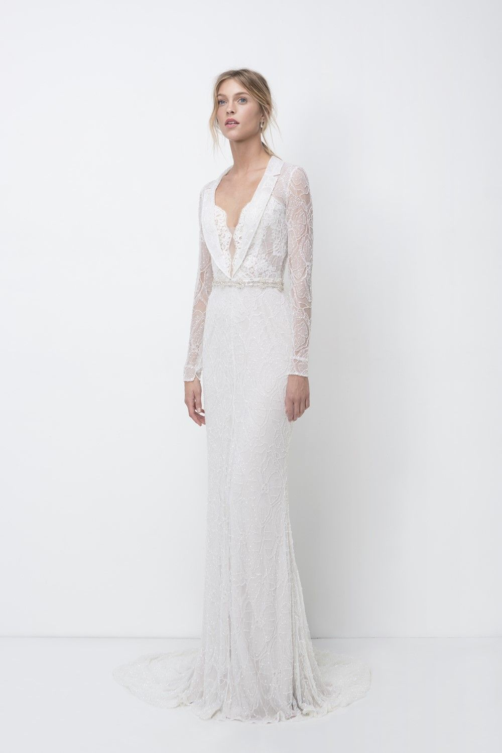 A Whiter Shade of Pale - Lihi Hod\'s 2018 Bridal Collection | Pinterest