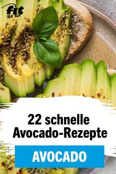 Avocado Rezepte: Die fittesten Avocado-Rezepte – Bilder – FIT FOR FUN
