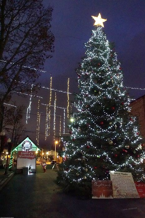 Christmas Lights Near Grant 2020 Christmas In The Square by Mick Anderson in 2020 | Grants pass