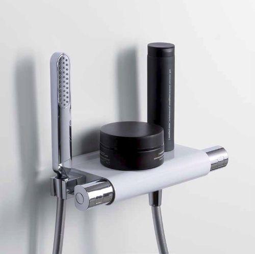 シャワーシングルレバー混合栓 クロムめっき使用メタル製