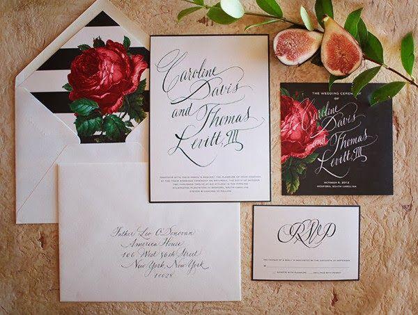 Suite by Emma J Designs, Calligraphy by Bride Kielty Whelan of Savannah Calligraphy