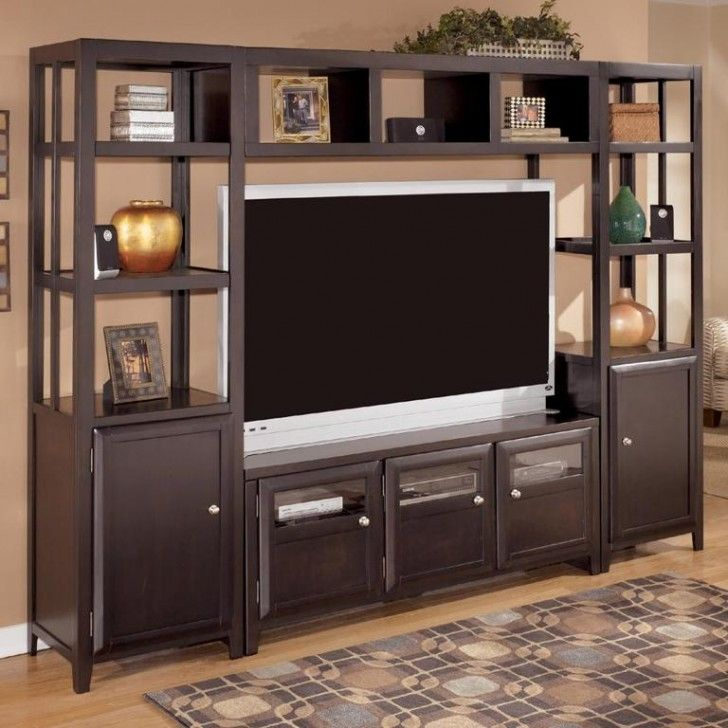 Furniture : Modern Showcase Design for Home Appliances ...