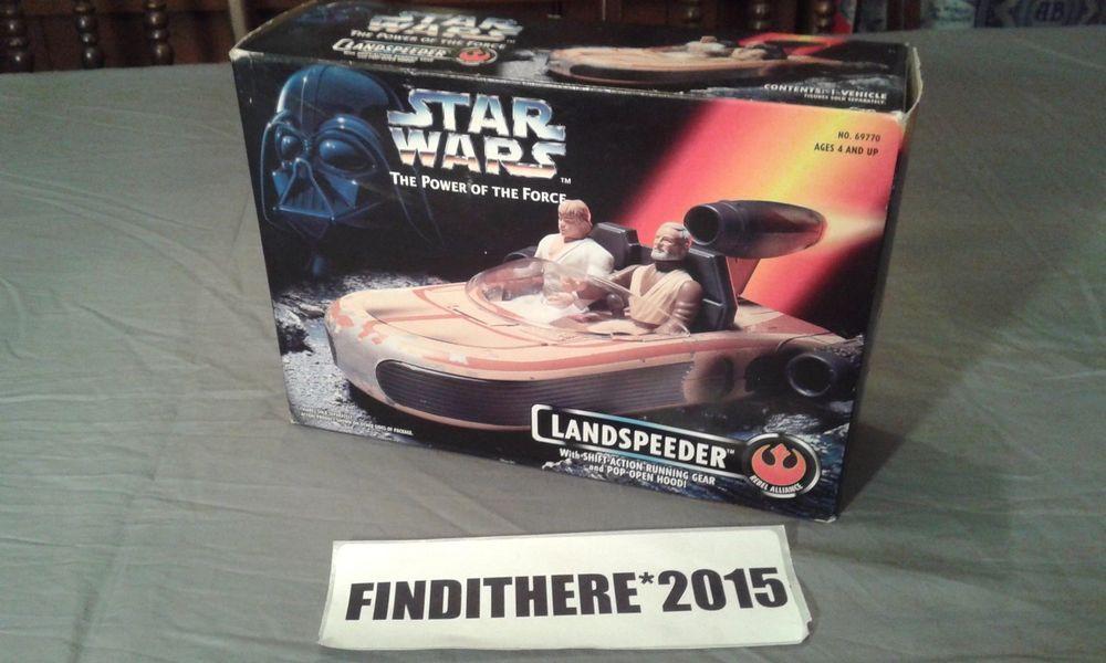 STAR WARS LANDSPEEDER NEW IN BOX