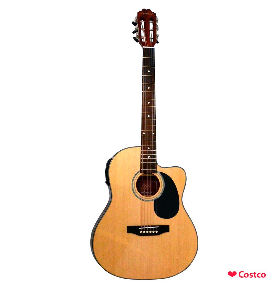 Guitarra La Sevillana Electro Acustica Costco Mexico Guitarras Guitarra Electroacustica Instrumentos Musicales