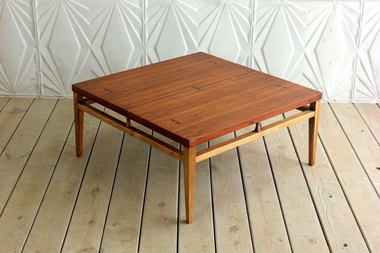 Coffee Table Walnut Refinished