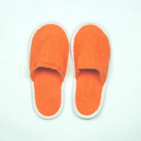 Photo of Zapatillas de rizo color naranja algodón 100% – MásQueToallas
