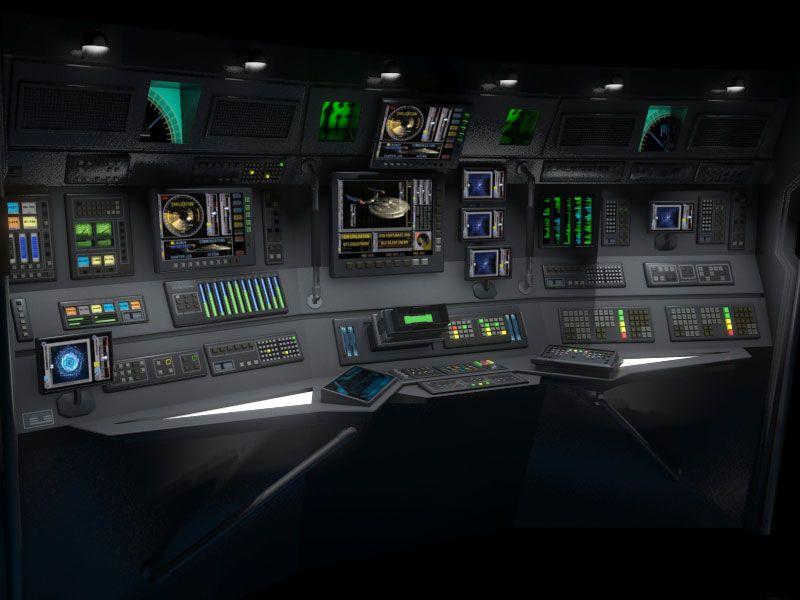 Star Trek: Enterprise. NX-01 Science Station