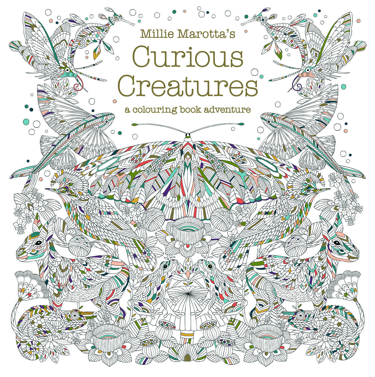 Millie Marottas Curious Creatures By Marotta Pavilion Shortlisted In The Best Colouring Book Category