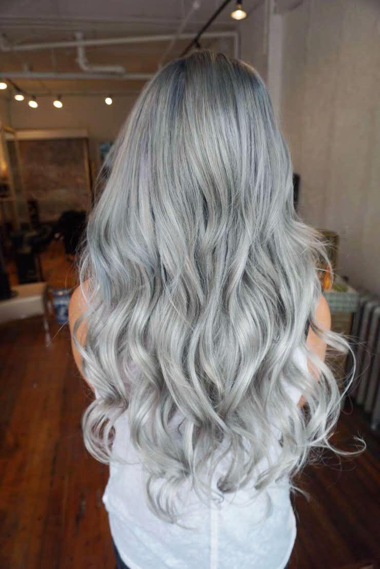 Formula Silver Blue Melt Silver Blue Hair Hair Color