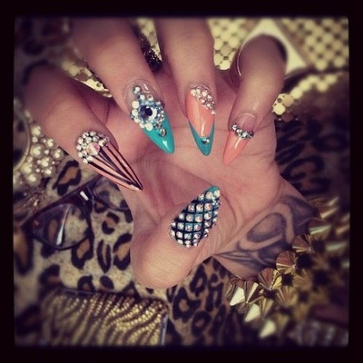 Pointy Nails Pointy Nails Pinterest Pointy Nails Pointed