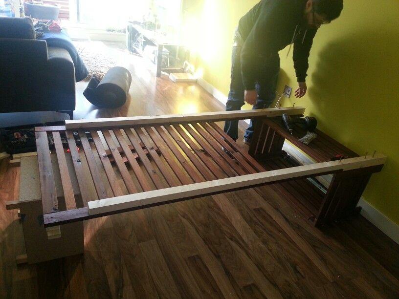 hacking the ikea applaro bench and wall piece so its on wall hacks id=90194