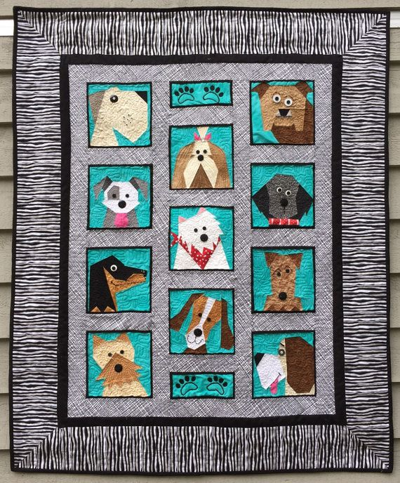 Panda Full Size Applique Quilting Quilt Pattern /& Instruction Only Quiltmaking Gift for Quilter
