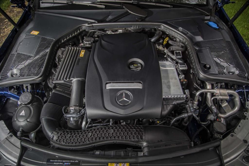 Mercedes c class 2017 boosts the class with twinturbo