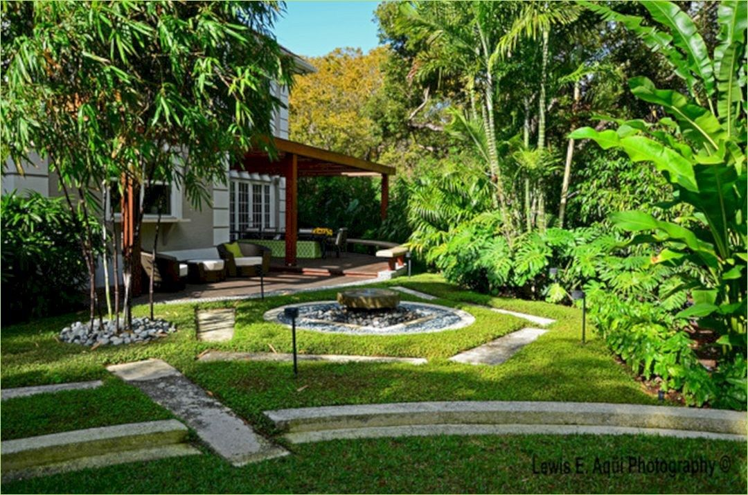 52 Stunning Tropical Zen Landscaping | Landscape, Side ...