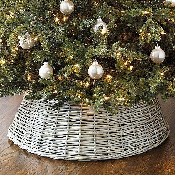 Willow Christmas Tree Basket Christmas Ideas Pinterest