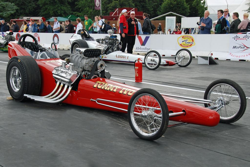 Tommy Ivo\'s Classic 1962 Supercharged V8 Dragster \