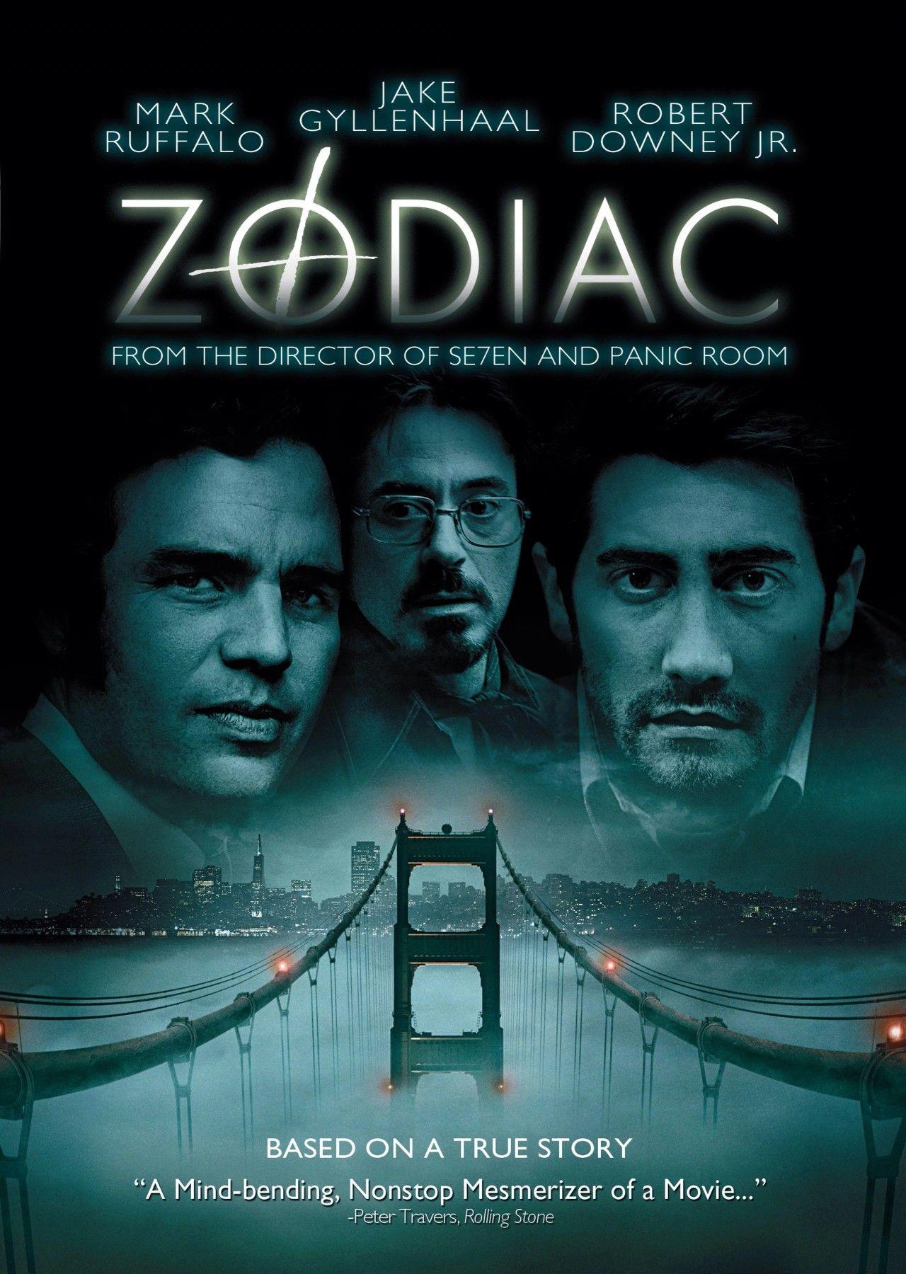 Zodiac Thriller Movies Zodiac Film True Stories