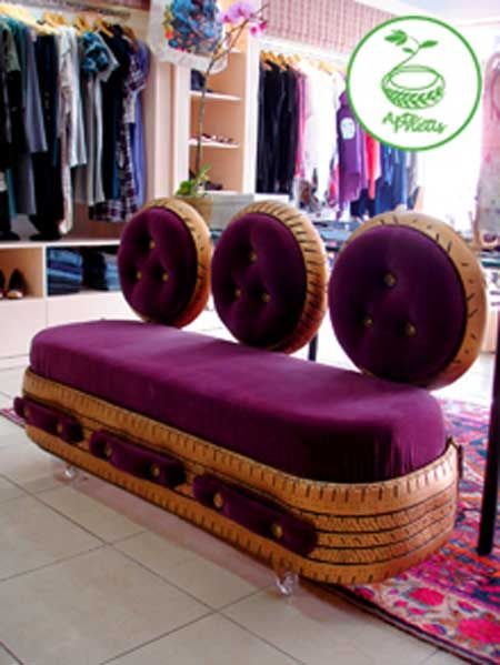 Sofa de pneu