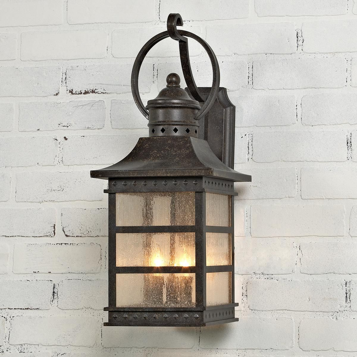 Carriage house outdoor light medium carriage house for Outdoor garage light fixtures