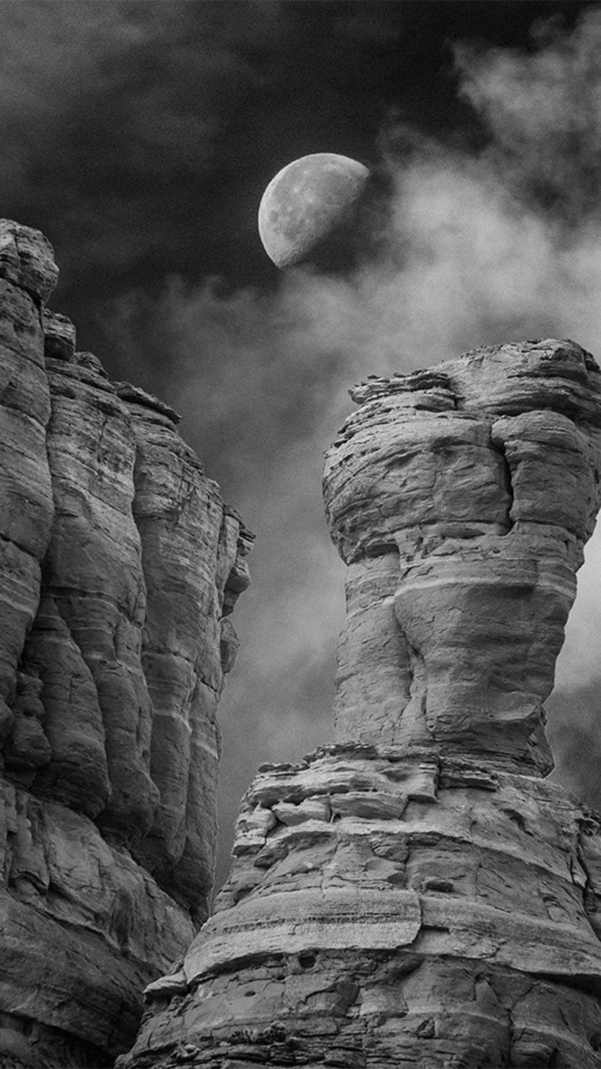 Moon over the in Arizona by James Petersen (Week
