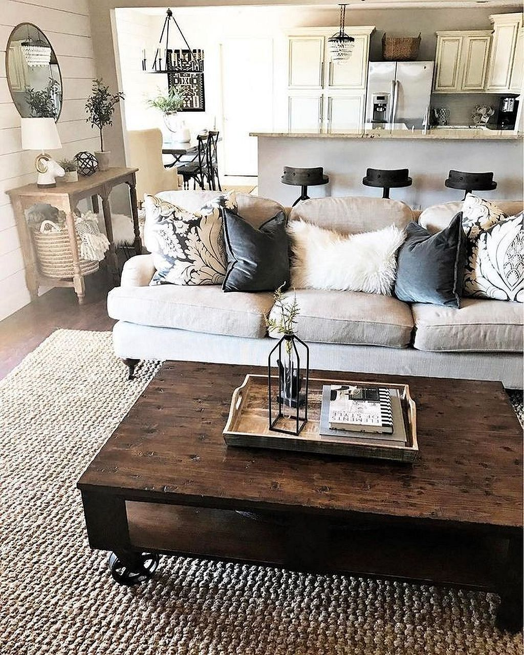 16 Sophisticated Rustic Living Room Designs You Won T Turn: DIY Farmhouse Living Room Decorating Ideas 11 In 2020
