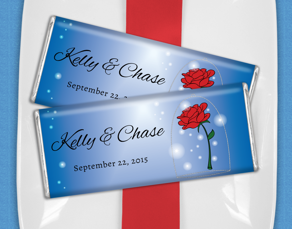 Personalized Disney Wedding Gifts: Beauty And The Beast Wedding Ideas / Personalized