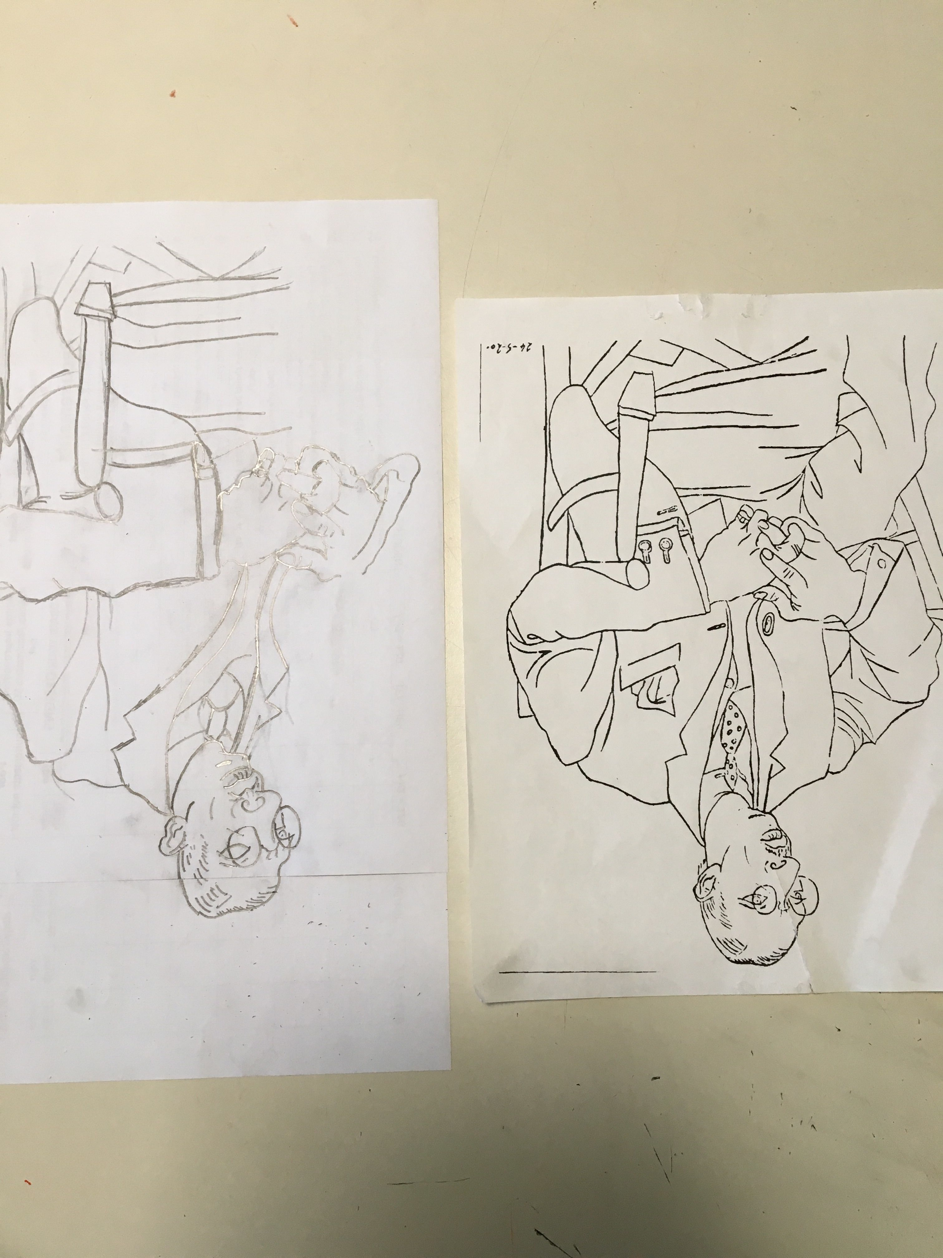 Drawing Upside Down 10 24