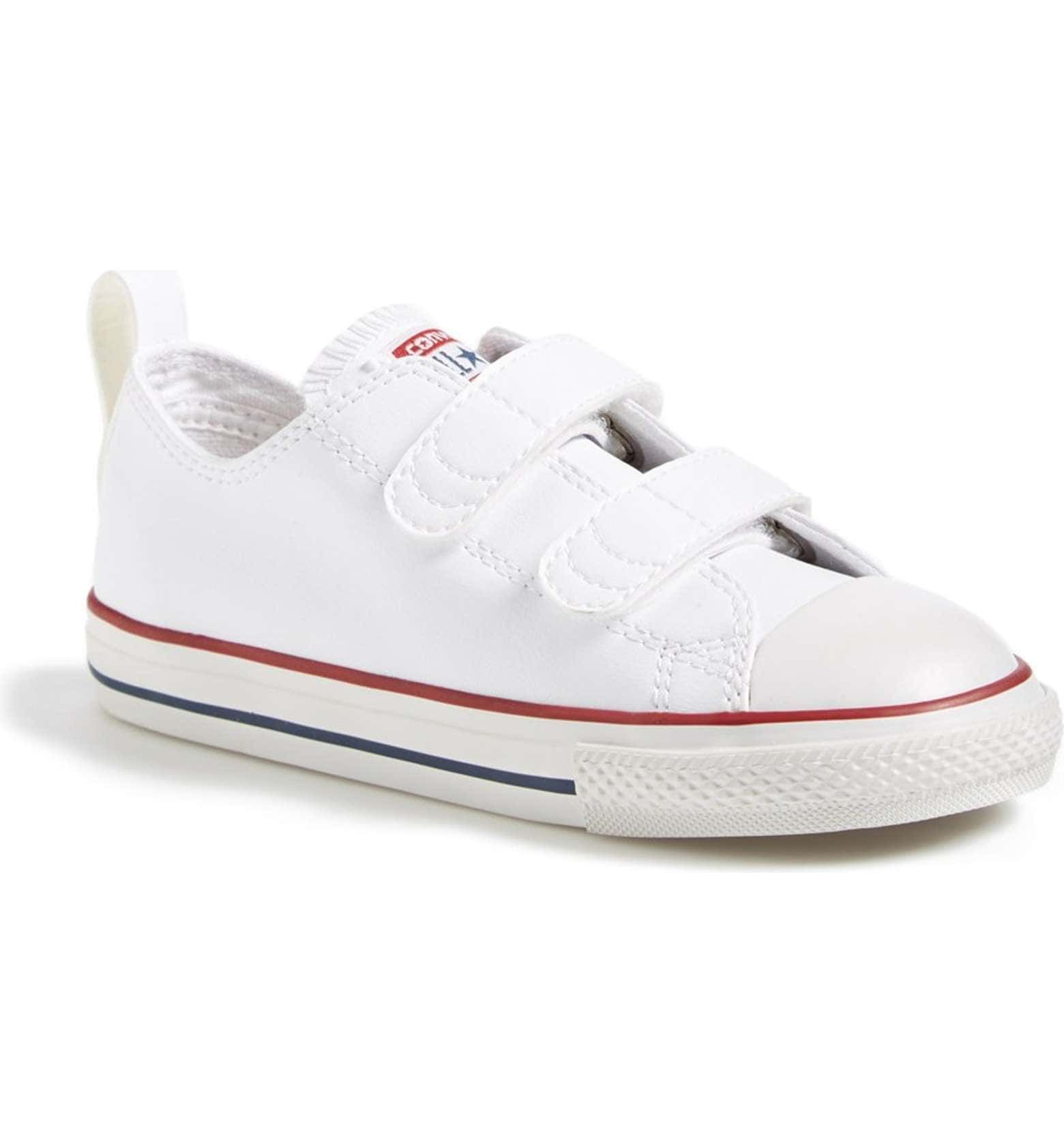 6ab6dc3d26 Converse Chuck Taylor® All Star® 2V Faux Leather Sneaker (Baby ...