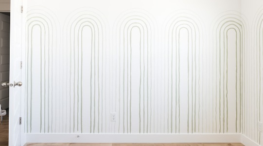 Painted Ombré Arch Mural in 2020 Mural, Painting