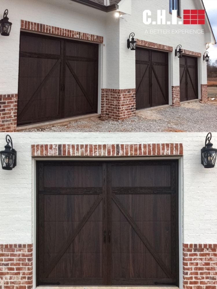 Shoreline Overlay Carriage House Industry Leading Woodtone Garage Doors In 2020 Garage Door Design Garage Doors Carriage House Doors