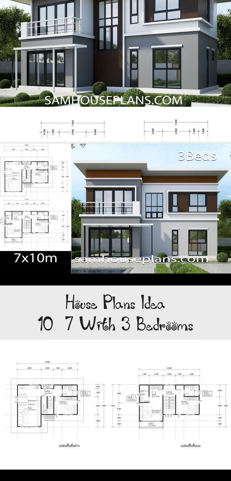 House Plans Idea 10 7 With 3 Bedrooms Ruby S Blog In 2020 House Plans Craftsman House Plans House Plans Australia