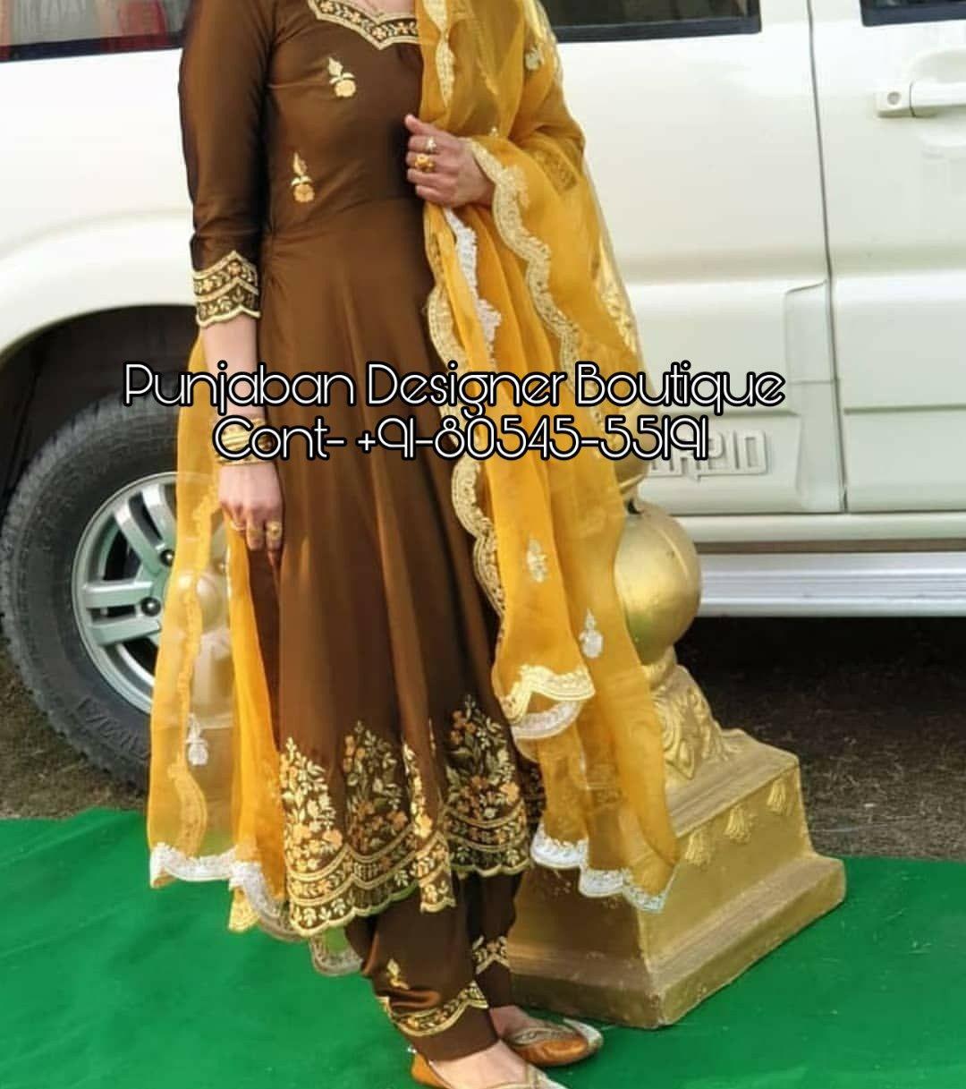 Unique Fashionable Punjabi Suits Online At Cheap Prices Fancy Dress Design Embroidery Suits Design Stylish Dress Designs