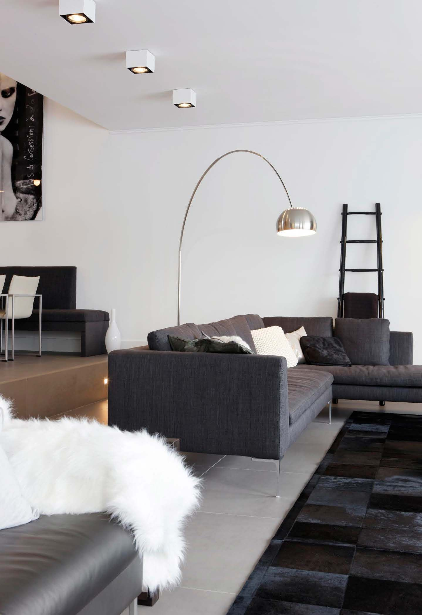 LOOK OUT SINGLE Ceiling Surface Mounted Lighting Solutions By - Bedroom light fittings uk