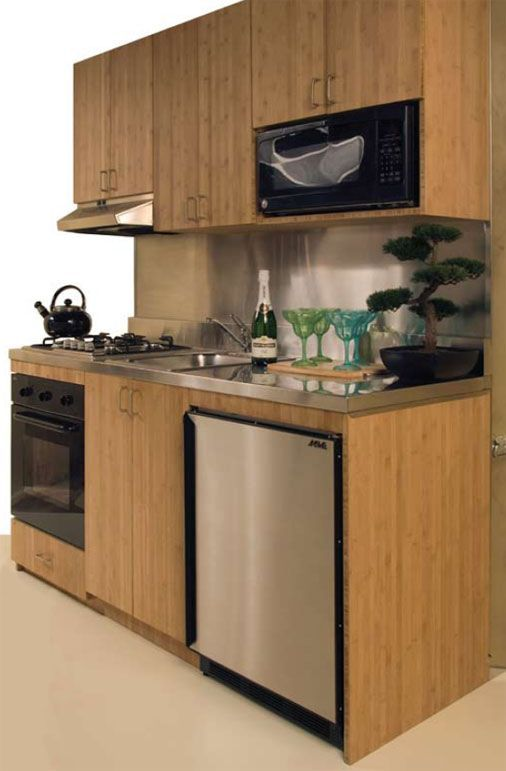 Efficiency Kitchenettes Bamboo Efficiency Kitchenettes Kitchenette Custom Kitchens Kitchen Models